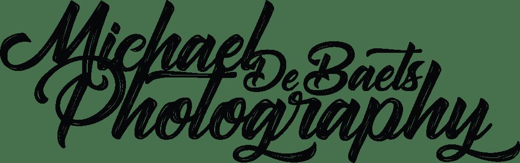 Logo Michael De Baets Photography